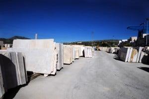 I blocchi di marmo