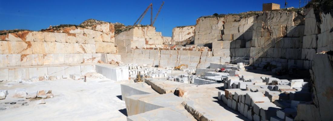 Il perlatino di Sicilia in cava