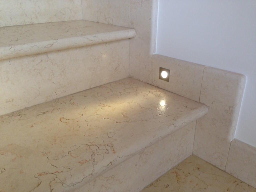 Marmo per edilizia giallo egiziano - Marmo per scale ...