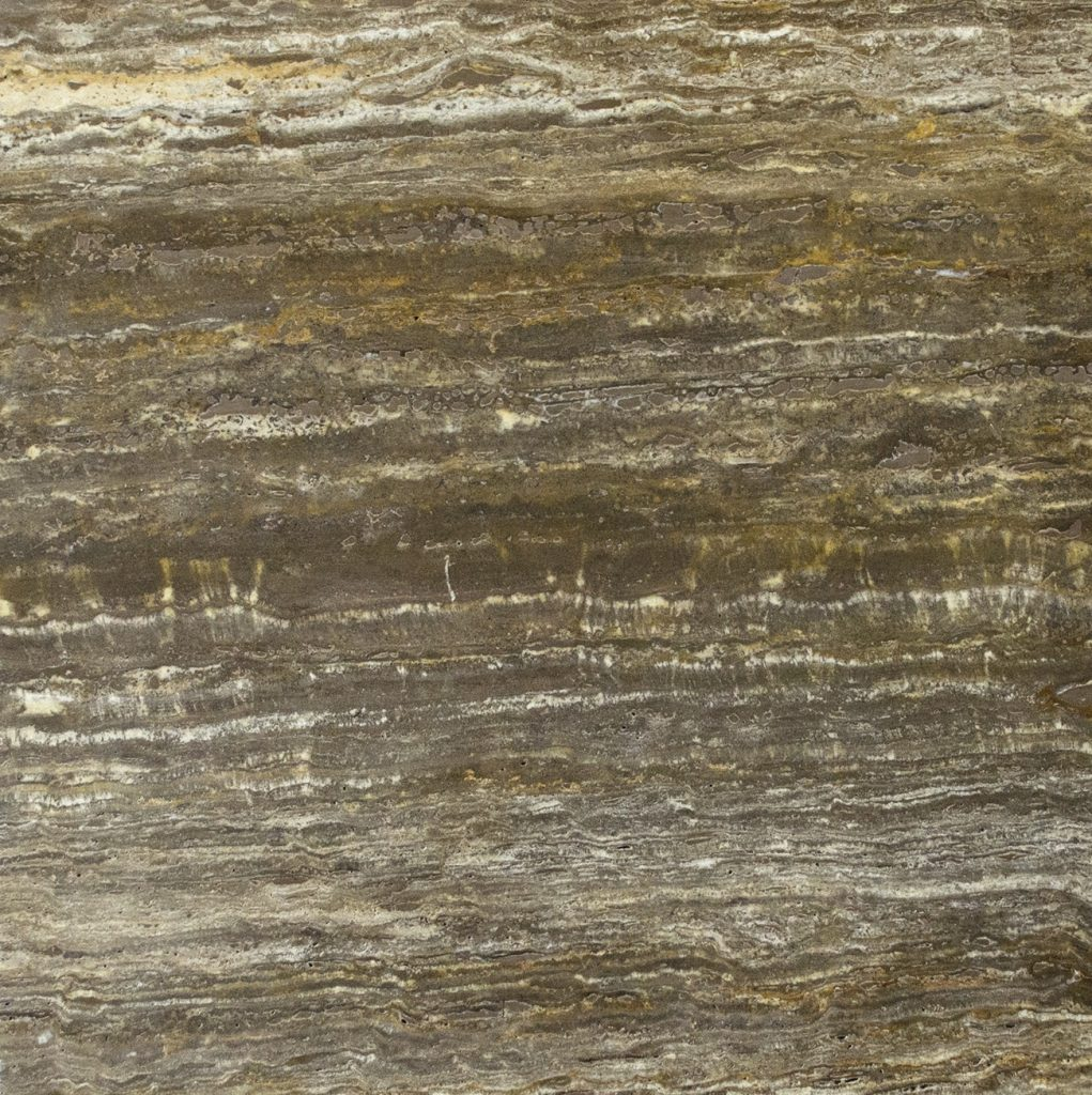 Marmo Travertino Silver Brown Vein Cut